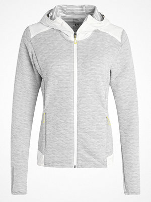Street & luvtröjor - Salomon ELEVATE Sweatshirt white
