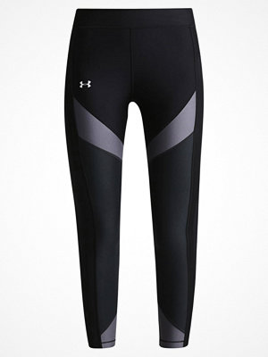 Under Armour Tights black/rhino gray/metallic silver
