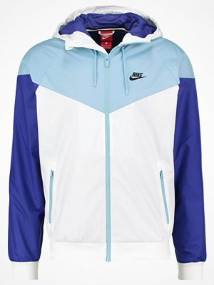Jackor - Nike Sportswear WINDRUNNER Tunn jacka white/mica blue/deep night/black