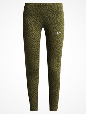 Nike Performance POWER EPIC Tights legion green/reflective silver