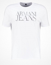 T-shirts - Armani Jeans Tshirt med tryck white