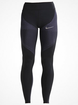 Sportkläder - Nike Performance Tights black/paramount blue