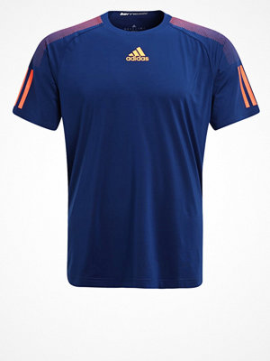 Sportkläder - Adidas Performance BARRICADE Tshirt med tryck dark blue/orange