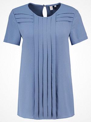 Seidensticker Tshirt med tryck smoky blue