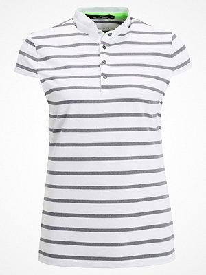Pikétröjor - Polo Ralph Lauren Golf Piké pure white /classic grey heather