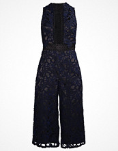 Topshop Overall / Jumpsuit navy blue