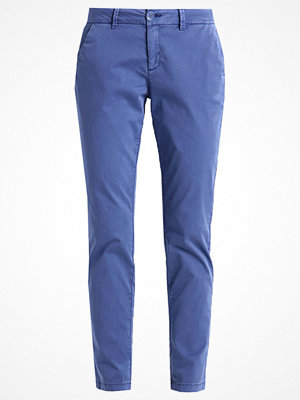 comma casual identity omönstrade byxor Chinos blue