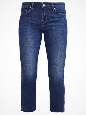 Edwin Jeans slim fit blue shredded