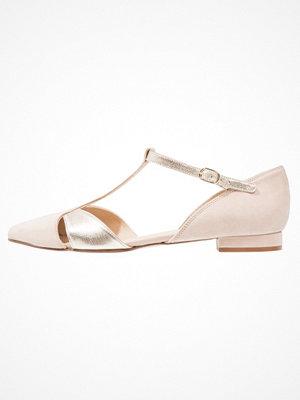 KIOMI Ballerinas med remmar rosa/platino