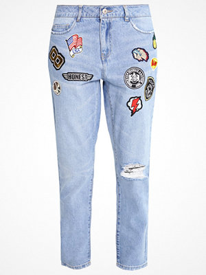 Only ONLLIMA Jeans relaxed fit light blue denim