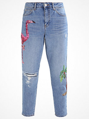 Topshop MOM Jeans relaxed fit indigo