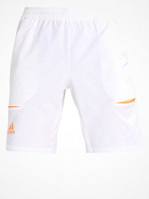 Adidas Performance Träningsshorts white/glow orange