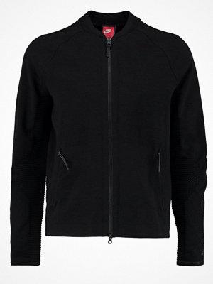 Street & luvtröjor - Nike Sportswear TECH Sweatshirt black