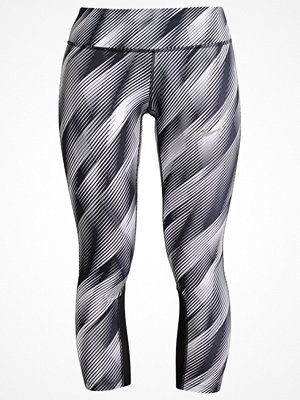 Sportkläder - Nike Performance EPIC Tights white/black/reflective silver