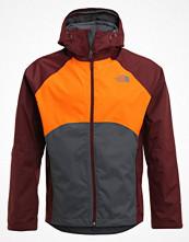 Regnkläder - The North Face SEQUENCE Hardshelljacka grey/orange/bordeaux