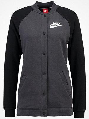 Street & luvtröjor - Nike Sportswear Bomberjacka anthracite/black/white