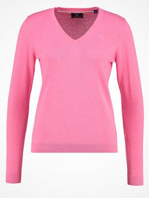 Gant Stickad tröja lipstick pink