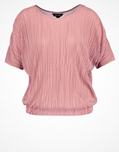 New Look Tshirt med tryck mid pink