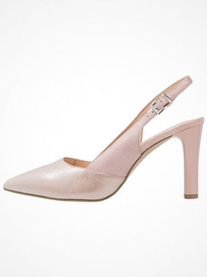 Caprice Klassiska pumps rose metallic