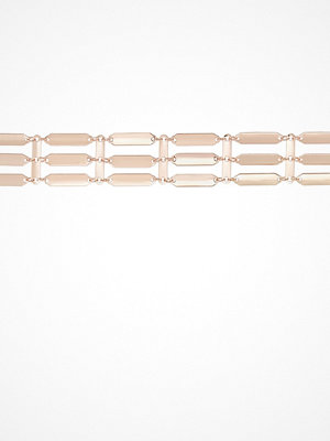 Topshop STATEMENT Halsband goldcoloured