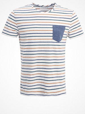 Pier One Tshirt med tryck off white/multicolored
