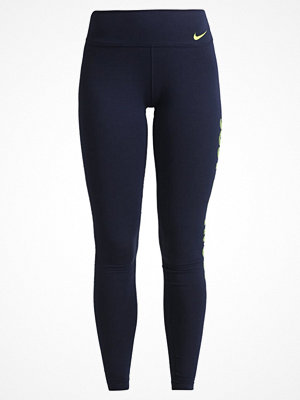 Sportkläder - Nike Performance Tights obsidian/volt