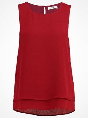 Zalando Essentials Linne dark red