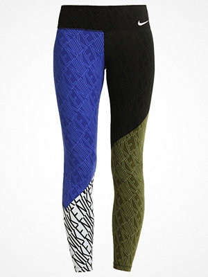 Sportkläder - Nike Performance LEGENDARY  Tights deep night/legion green/white