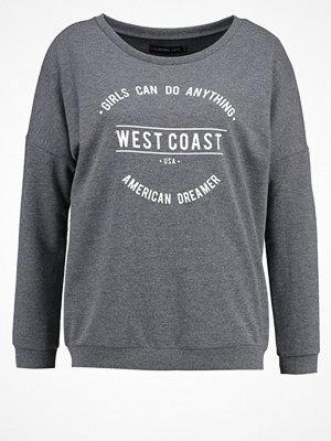 Even&Odd Sweatshirt dark grey melange