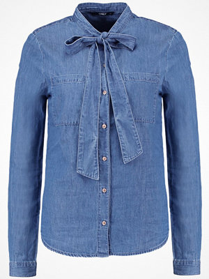 Only ONLBOW Skjorta medium blue denim
