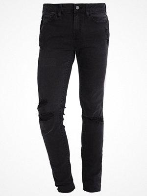 Wåven ERLING Jeans Skinny Fit dirty black