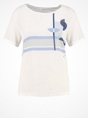 Opus SATIFAH Tshirt med tryck violet blue