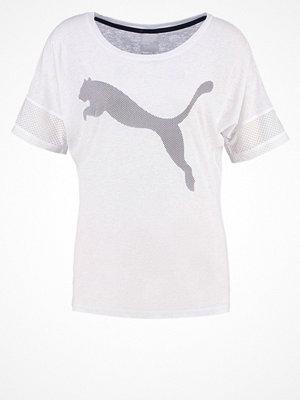 Puma Tshirt med tryck puma white