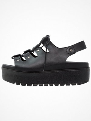 Sandaler & sandaletter - KMB VAJEL  Platåsandaletter black