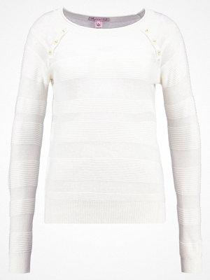 Anna Field Stickad tröja cloud dancer