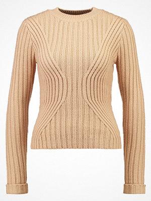 Miss Selfridge Stickad tröja taupe/beige