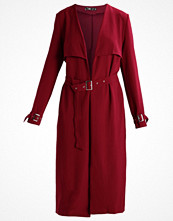 Missguided Trenchcoat burgundy