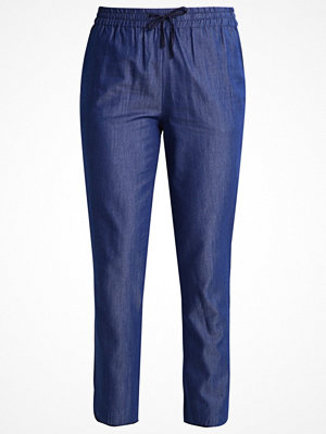Anna Field Tygbyxor denim blue