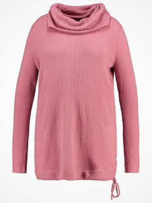 Zizzi Stickad tröja heather rose