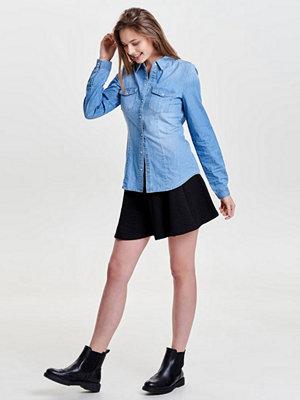 Only Skjorta light blue