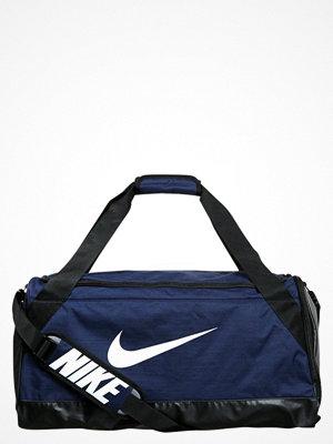 Sport & träningsväskor - Nike Performance BRASILIA Sportväska midnight navy/black/white