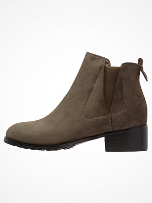 Lost Ink Ankelboots khaki