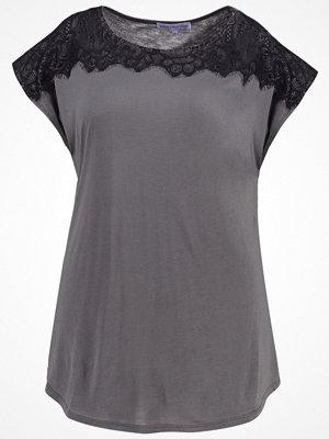 Anna Field Curvy Tshirt med tryck dark shadow