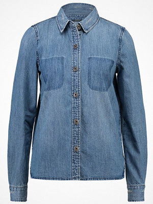 Only ONLBECH  Skjorta medium blue denim