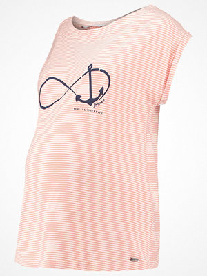 bellybutton Tshirt med tryck coral almond/rose