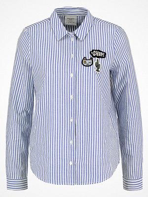 Vero Moda VMBADGE Skjorta bright white/blue