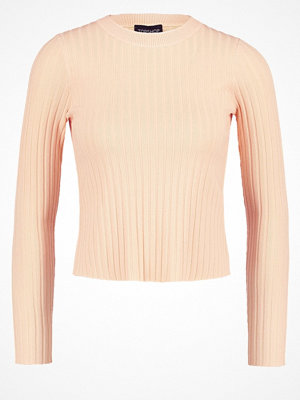 Topshop Stickad tröja peach