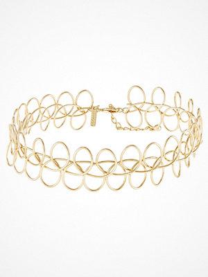 Topshop Halsband goldcoloured