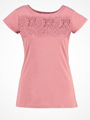 Anna Field Tshirt med tryck rose