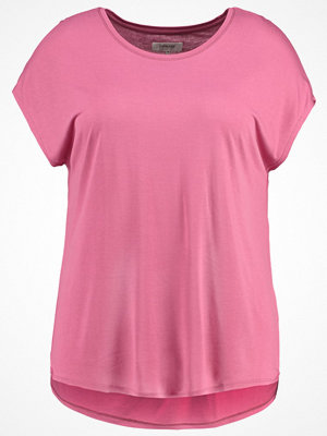 Zalando Essentials Curvy Tshirt bas dark rose